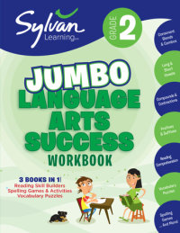 Book cover for 2nd Grade Jumbo Language Arts Success Workbook