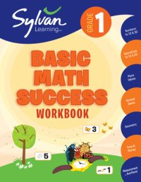 Book cover for 1st Grade Basic Math Success Workbook