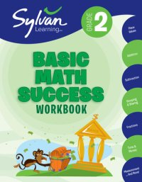 Book cover for 2nd Grade Basic Math Success Workbook