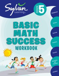 Book cover for 5th Grade Basic Math Success Workbook