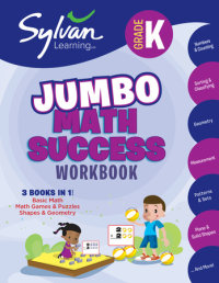Book cover for Kindergarten Jumbo Math Success Workbook