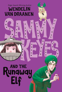 Book cover for Sammy Keyes and the Runaway Elf