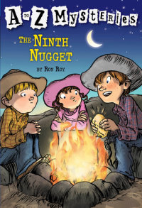 Book cover for A to Z Mysteries: The Ninth Nugget