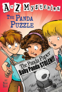 Book cover for A to Z Mysteries: The Panda Puzzle