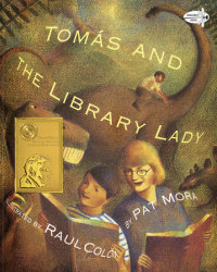 Book cover for Tomas and the Library Lady