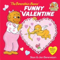 Book cover for The Berenstain Bears\' Funny Valentine