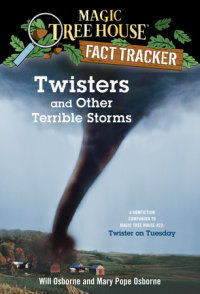 Book cover for Twisters and Other Terrible Storms