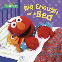 Book cover for Big Enough for a Bed (Sesame Street)