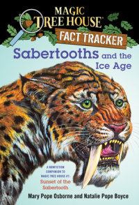 Book cover for Sabertooths and the Ice Age