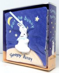 Book cover for Sleepy Bunny ( Pat the Bunny) Cloth Book