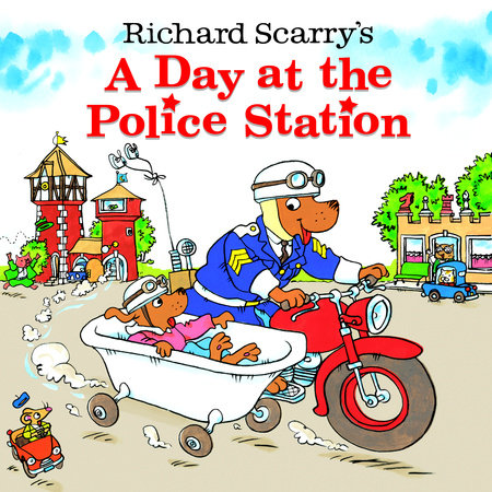 Richard Scarry's A Day at the Police Station