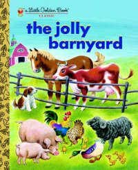 Book cover for The Jolly Barnyard