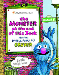 Book cover for The Monster at the End of this Book (Sesame Street)