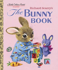Book cover for Richard Scarry\'s The Bunny Book