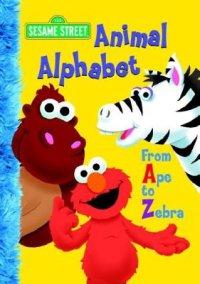 Book cover for Animal Alphabet (Sesame Street)
