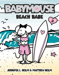 Book cover for Babymouse #3: Beach Babe