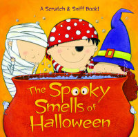 Book cover for The Spooky Smells of Halloween