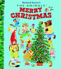 Book cover for The Animals\' Merry Christmas