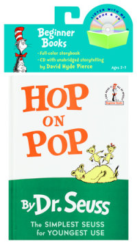 Book cover for Hop on Pop Book & CD