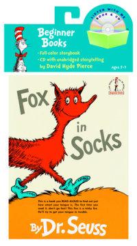 Book cover for Fox in Socks Book & CD