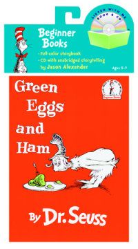 Book cover for Green Eggs and Ham Book & CD