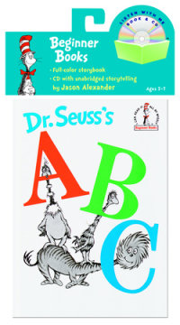 Book cover for Dr. Seuss\'s ABC Book & CD