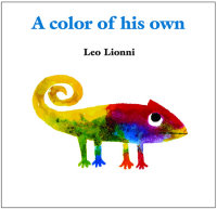 Book cover for A Color of His Own