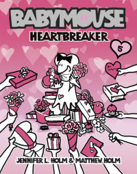 Book cover for Babymouse #5: Heartbreaker
