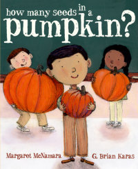 Book cover for How Many Seeds in a Pumpkin? (Mr. Tiffin\'s Classroom Series)