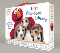 Book cover for Elmo\'s World: First Flap-Book Library (Sesame Street)