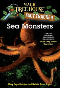 Book cover for Sea Monsters