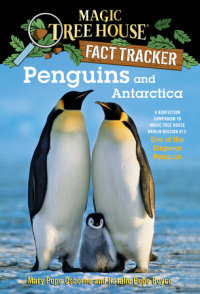 Book cover for Penguins and Antarctica