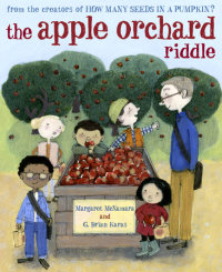 Book cover for The Apple Orchard Riddle (Mr. Tiffin\'s Classroom Series)