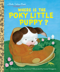 Book cover for Where is the Poky Little Puppy?