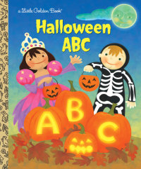 Book cover for Halloween ABC