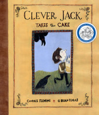 Book cover for Clever Jack Takes the Cake