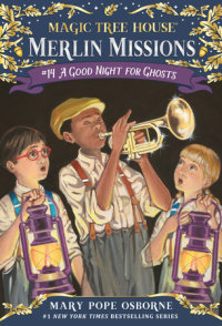 Book cover for A Good Night for Ghosts