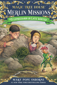 Book cover for Leprechaun in Late Winter