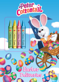 Book cover for Easter Deliveries (Peter Cottontail)