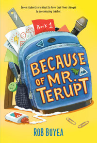 Book cover for Because of Mr. Terupt