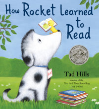 Book cover for How Rocket Learned to Read