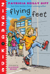Book cover for Flying Feet