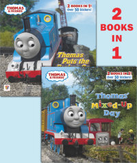Book cover for Thomas\' Mixed-Up Day/Thomas Puts the Brakes On (Thomas & Friends)