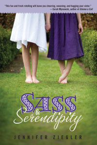 Book cover for Sass & Serendipity