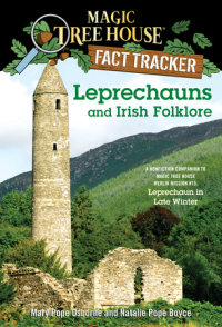 Book cover for Leprechauns and Irish Folklore