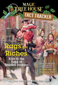 Book cover for Rags and Riches: Kids in the Time of Charles Dickens