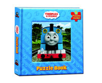 Book cover for Thomas and Friends Puzzle Book (Thomas & Friends)