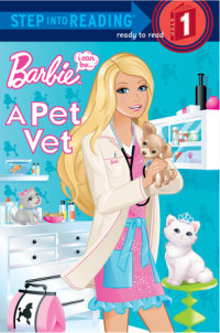 Book cover for I Can Be a Pet Vet (Barbie)