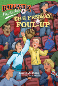 Book cover for Ballpark Mysteries #1: The Fenway Foul-up