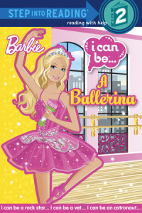 Book cover for I Can Be A Ballerina (Barbie)
